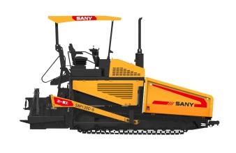 三一重工SAP130C-5高等级沥青摊铺机高清图 - 外观
