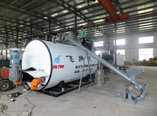 飞腾YSCL-45燃油、导热油双加温彩色沥青生产罐