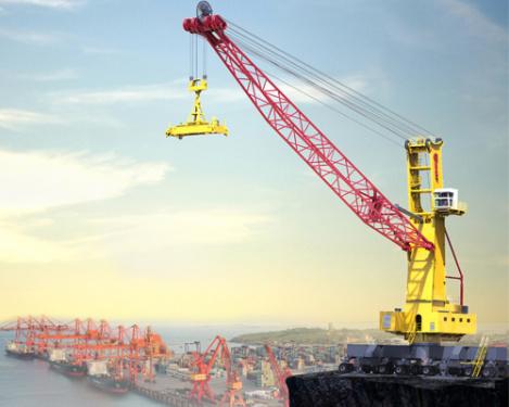 三一重工SGQ145S港口移动式高架起重机
