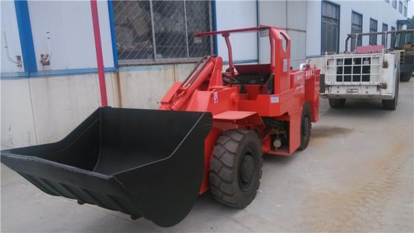 现代重工XDCY-0.6立方内燃铲运机