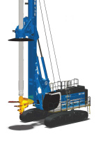 土力机械SR135HIT入岩旋挖钻机