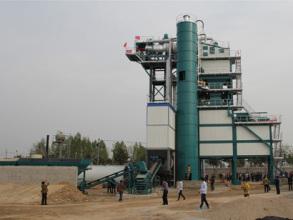 亚龙筑机SLB1500沥青混合料搅拌设备高清图 - 外观