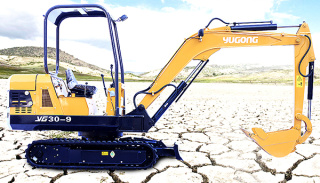 驭工YG30-9履带式小型液压挖掘机