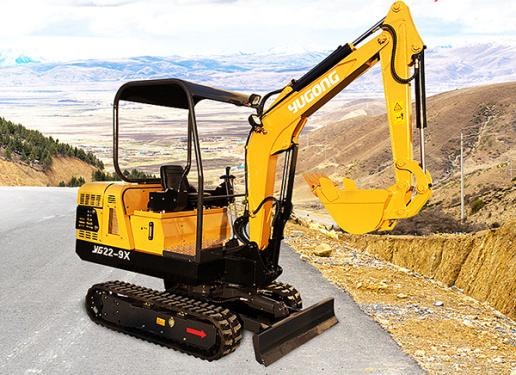 驭工YG22-9X(带先导操作)履带式小型液压挖掘机