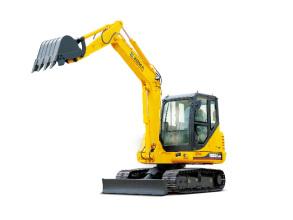厦工XG806履带式挖掘机高清图 - 外观