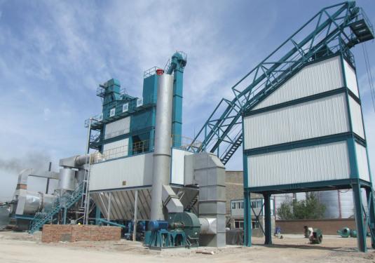 亚龙筑机LB5000型沥青混合料搅拌设备