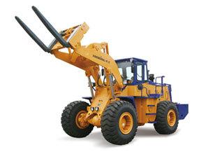 龙工CDM855W石料叉装机高清图 - 外观