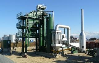 亚龙筑机HXB1000沥青混合料搅拌设备