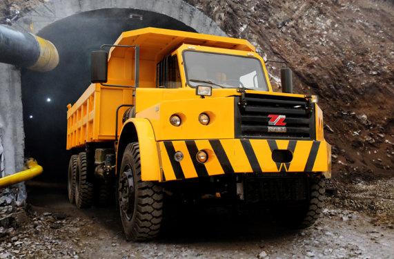 同力重工TLK301(高原版)坑道用自卸车