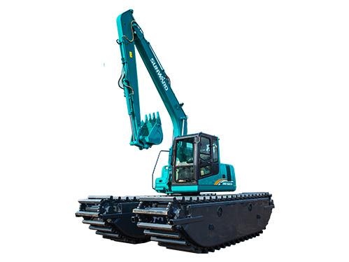 山河智能SWE210SD湿地挖掘机