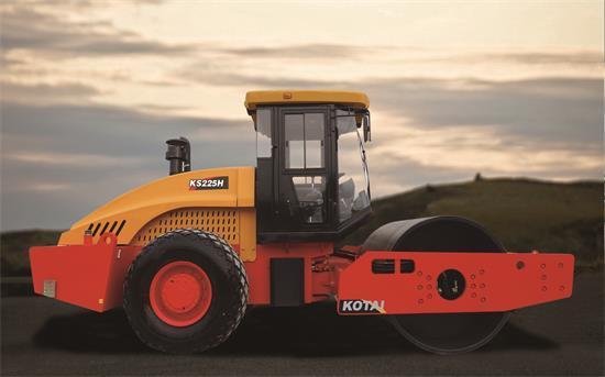 科泰重工KS225H-2单钢轮压路机