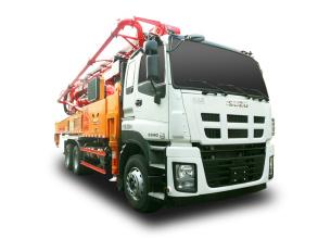 三一重工SYM5337THBDW 520 C9混凝土泵车高清图 - 外观