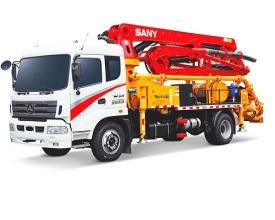 三一重工SYM5163THBDS 21V8系列混凝土泵车高清图 - 外观
