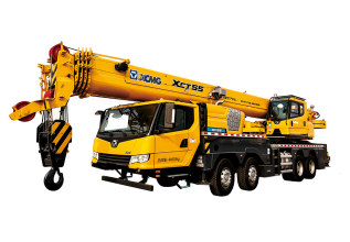 徐工XCT55L5汽车起重机高清图 - 外观