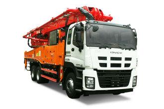 三一重工SYM5337THBDW 490C-8S混凝土泵车高清图 - 外观