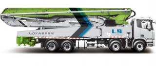 雷萨重机58米泵车