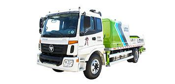 雷萨重机BJ5123THB-9018车载式混凝土输送泵