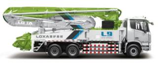 雷萨重机50米泵车