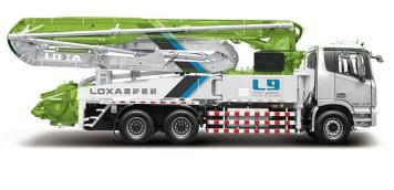 雷萨重机40米GTL泵车高清图 - 外观