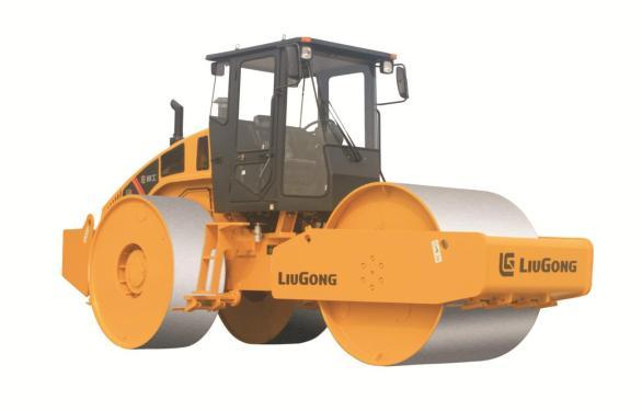 柳工CLG6324静碾三钢轮压路机