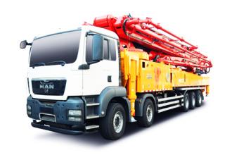 三一重工SY5541THB 630C-9C9系列混凝土泵车高清图 - 外观