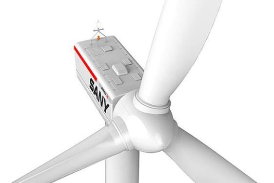 三一重工SE12120高速双馈型风力发电机组