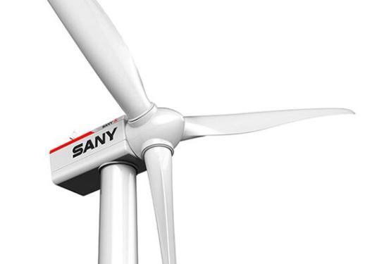 三一重工SE8720高速双馈型风力发电机组