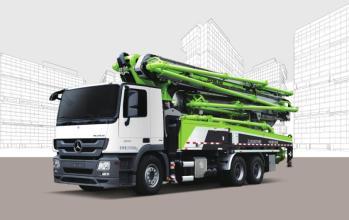 中联重科ZLJ5310THBJE  40X-5RZ泵车高清图 - 外观