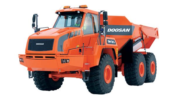 斗山DA30铰接式自卸卡车