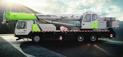 中联重科QY30V汽车起重机高清图 - 外观