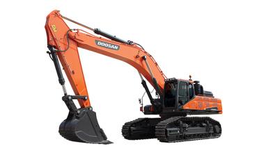 斗山DX520LC-9C挖掘机高清图 - 外观