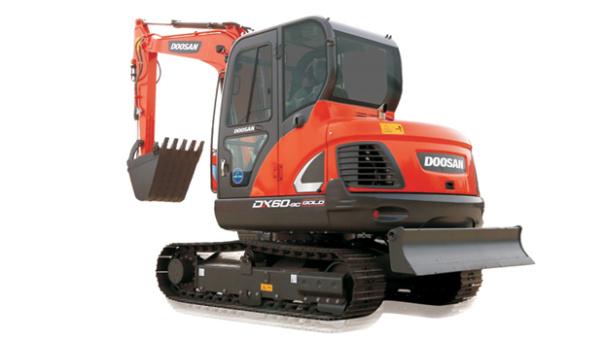 斗山DX60-9CG挖掘机