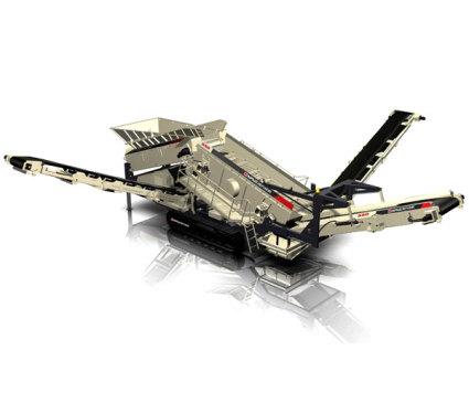 南方路机NFS550履带移动重型倾斜式筛分设备
