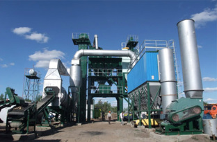 陆德LD130沥青混合料搅拌设备