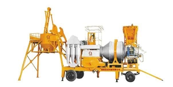 泉成机械QCQ-80移动强制式沥青搅拌设备