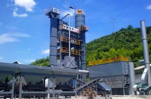 陆德LD175C沥青混合料搅拌设备