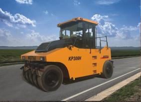 科泰重工KP306H全液压轮胎压路机