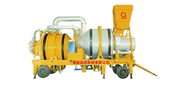 泉成机械QCS-8移动双滚筒