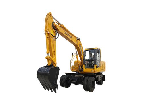 恒特HTL135轮式挖掘机挖掘机
