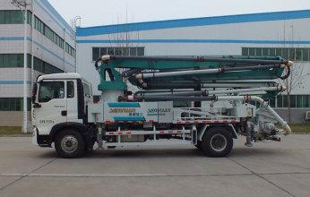 森源重工SMQ5202THB33米泵车高清图 - 外观