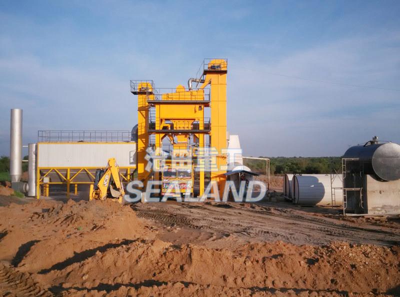 沧田重工LB1000强制式沥青混合料搅拌设备