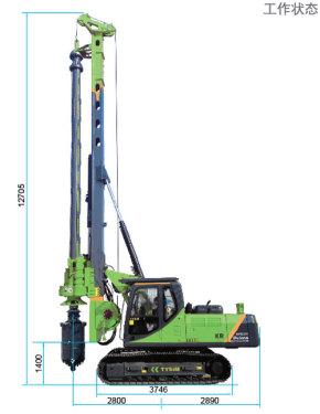 泰信机械KR80A旋挖钻机