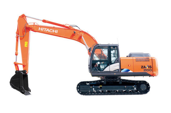 日立ZX200-5A挖掘机
