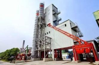 德基机械环保型封闭式沥青混合料搅拌设备高清图 - 外观