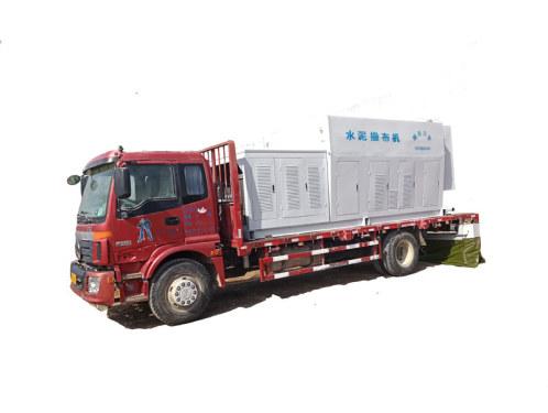 万里FS-2500新款大容量散装水泥撒布机