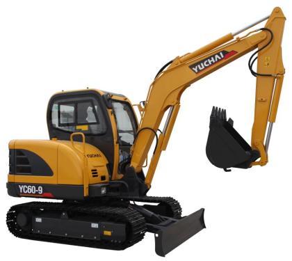 玉柴YC60-9挖掘机