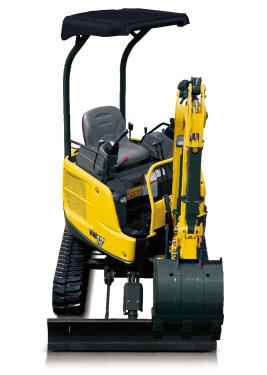 洋马ViO17(橡胶履带)挖掘机
