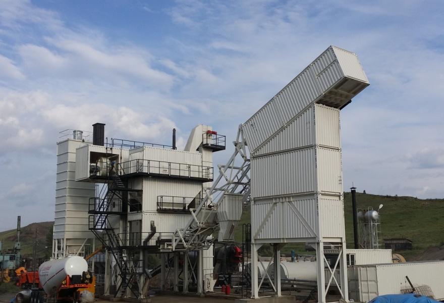 江苏意玛CSM160型沥青混凝土拌合站