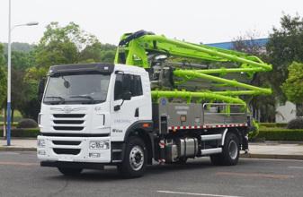 中联重科ZLJ5200THBJE  32X-4RZ泵车高清图 - 外观