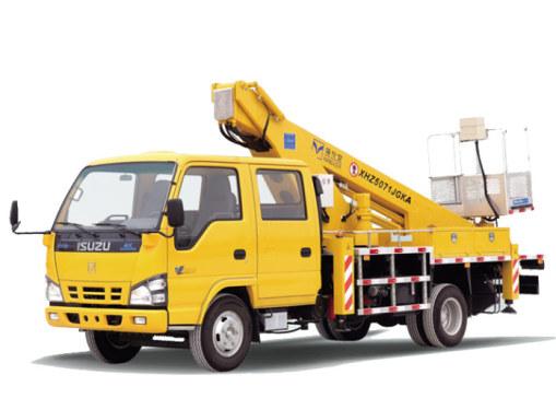 海伦哲XHZ5071JGKQ5庆铃18m伸缩臂高空作业车